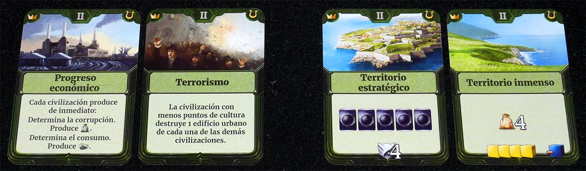 Eventos y Territorios
