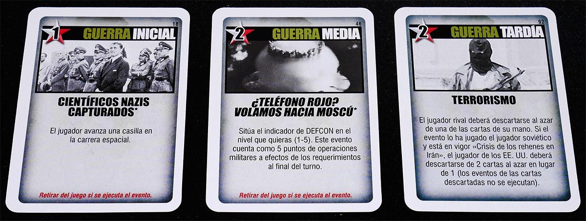 Guerra Inicial, Media y Tardía