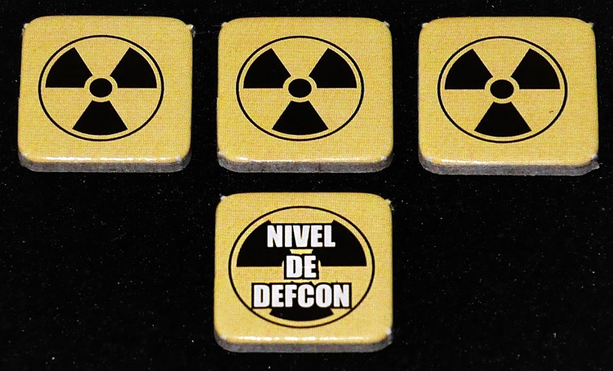 Marcadodes de Nivel de Defcon