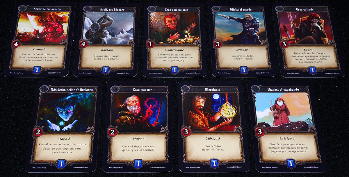 Cartas de Draft
