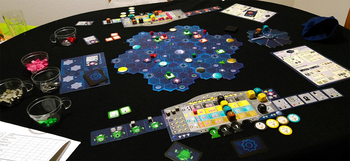 Tensión en el espacio (Solarius Mission)
