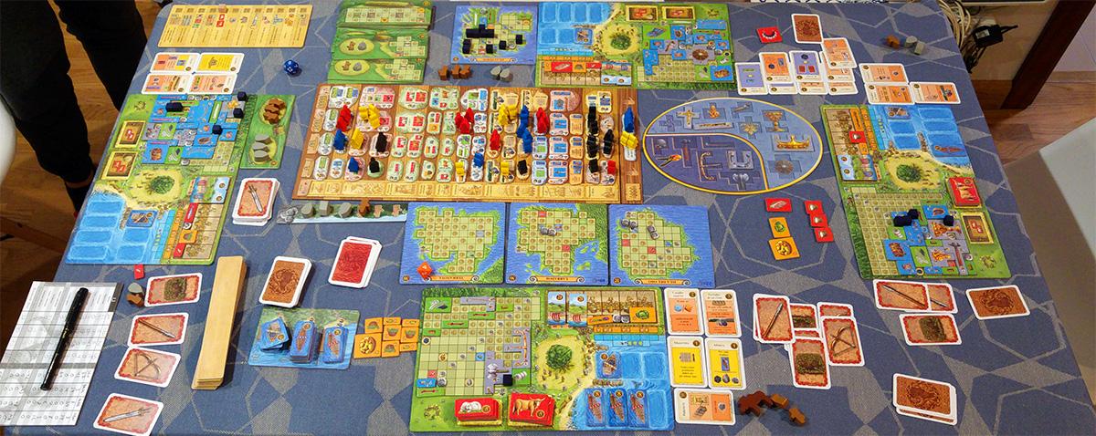 Vaya manita de eurogamer con los dados (El Banquete de Odín)