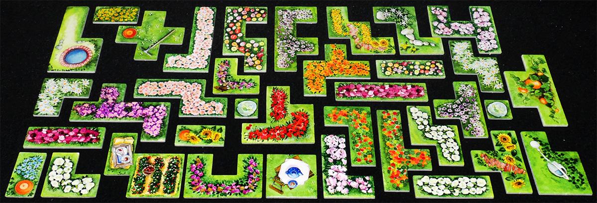 Piezas de Flores