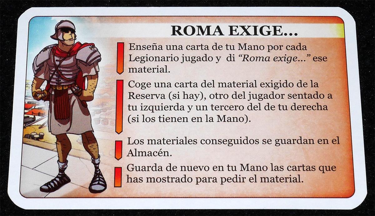Roma exige