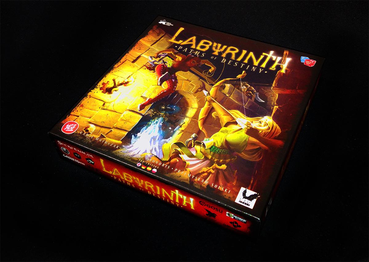 Portada de Labyrinth