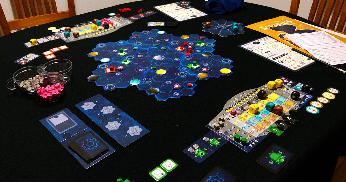 Apatrullando la galaxia (Solarius Mission)
