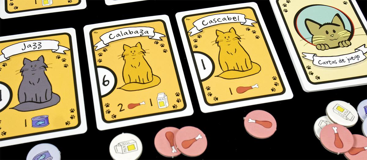 Detalle Gatos y Comida