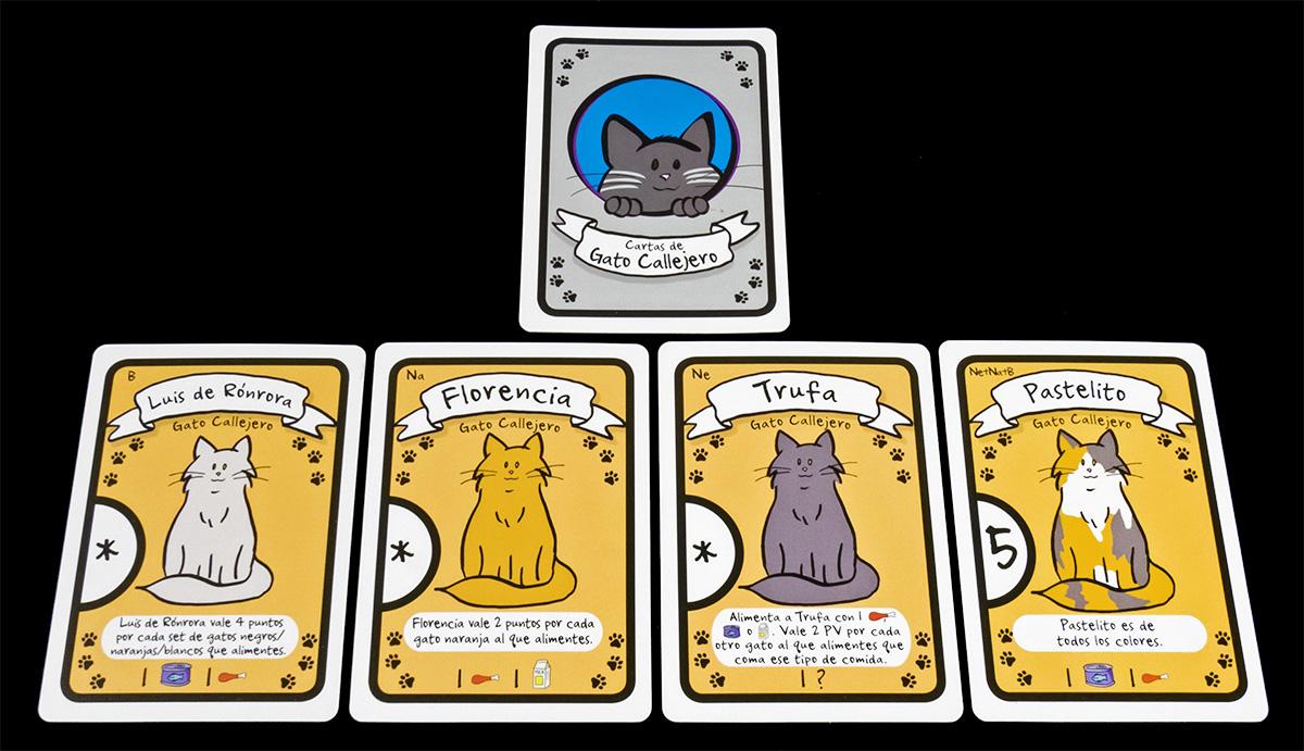 Cartas de Gato Callejero