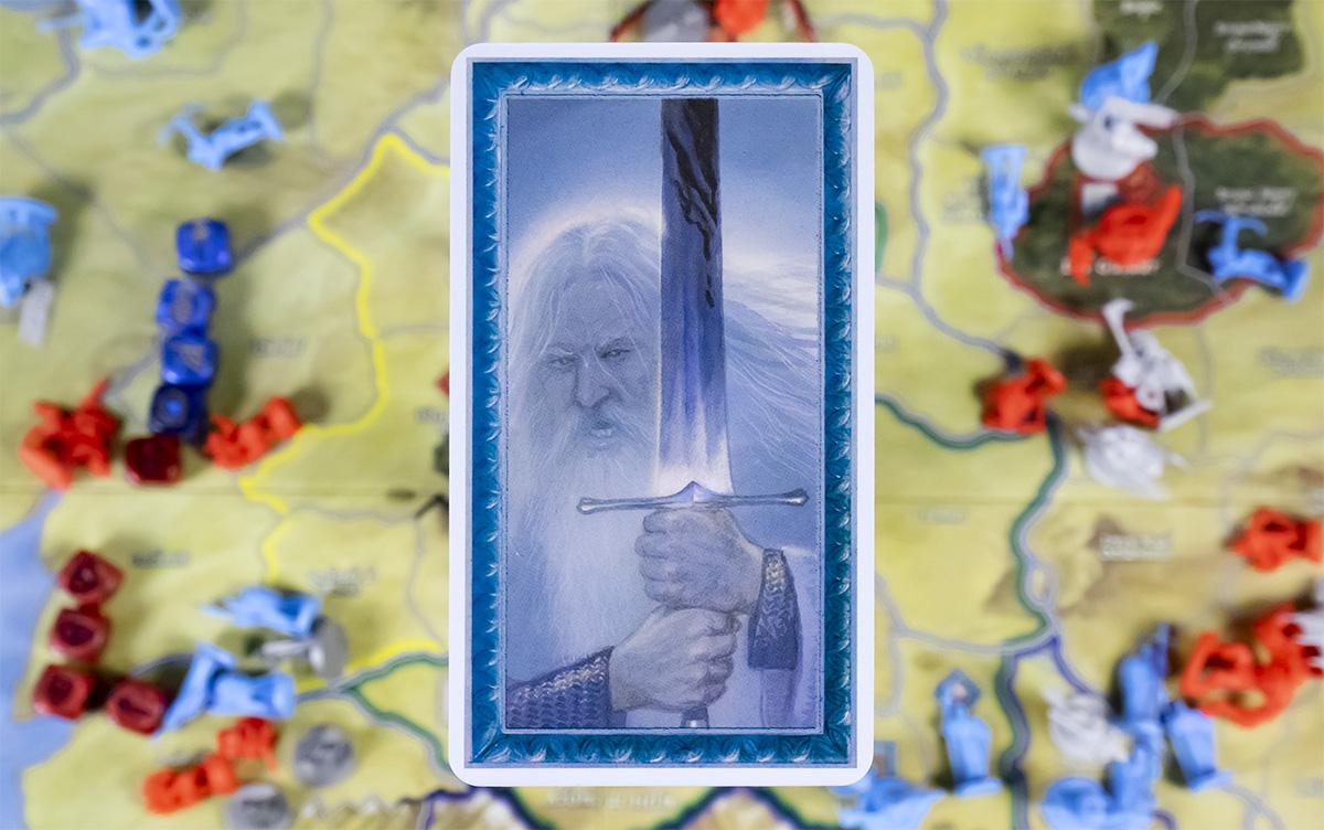 Detalle Carta de Gandalf