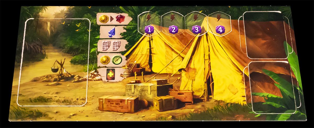 Tablero de Campamento