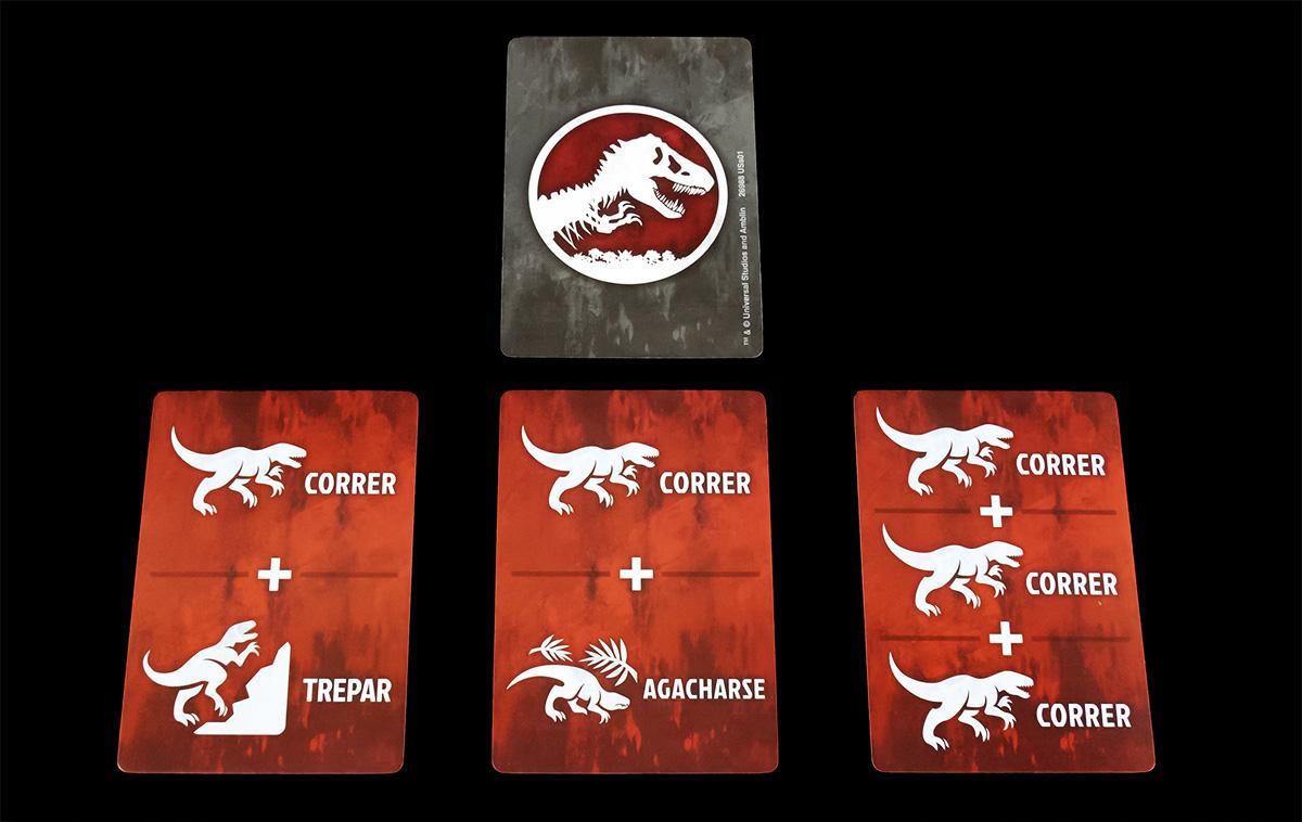 Cartas de Dinosaurio