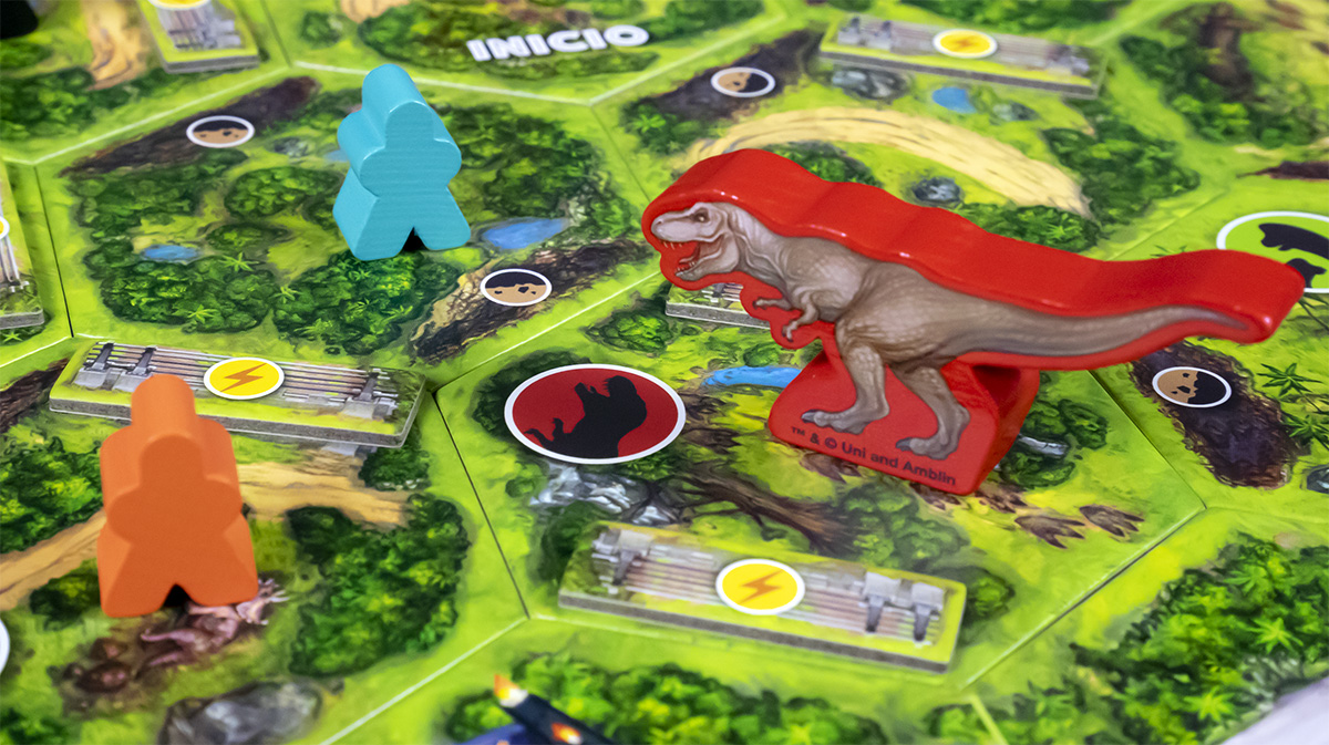 Detalle T-Rex