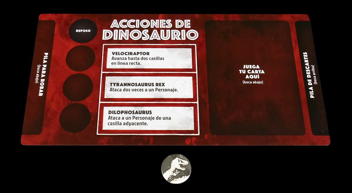 Tablero del Dinosaurio
