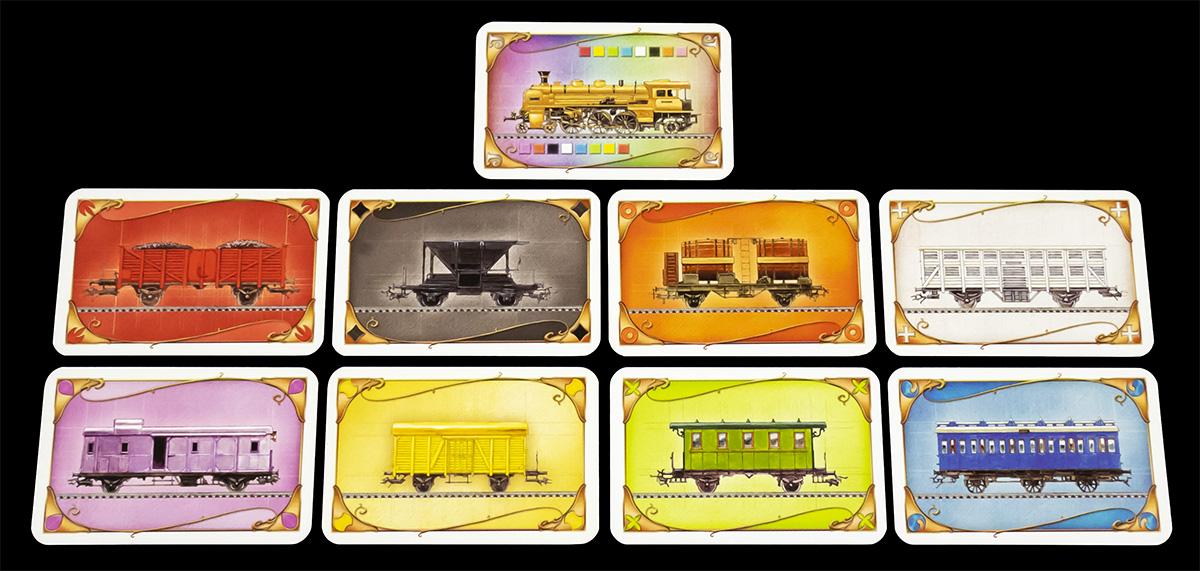 Cartas de Vagón